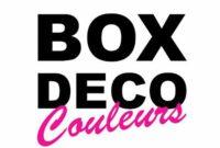 BOX DECO COULEURS