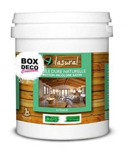 Huile bois teck naturelle pour intérieur et extérieur - Bio - NATURA - Lasural - Entretien et la protection des bois exotiques 1 L