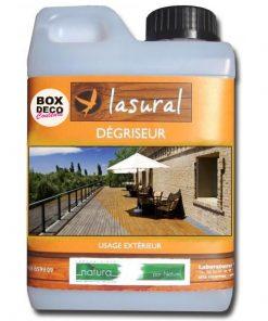 Dégriseur Naturelle Bois extérieur Bio Lasural NATURA- Produit d'entretien pour terrasse écologique - 5L