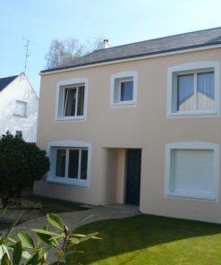Peinture façade murale blanche extérieure aspect satin Orphéo Natura - 10L
