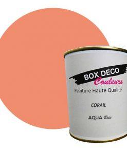 Peinture pour meuble bois à base d'acrylique, aspect mat, 750 ml, 7.5 m², 44 couleurs disponibles