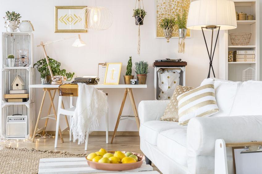 Peinture murale blanc gardéna naturel écologique intérieur/extérieur mat Natura - 10L / 125m²